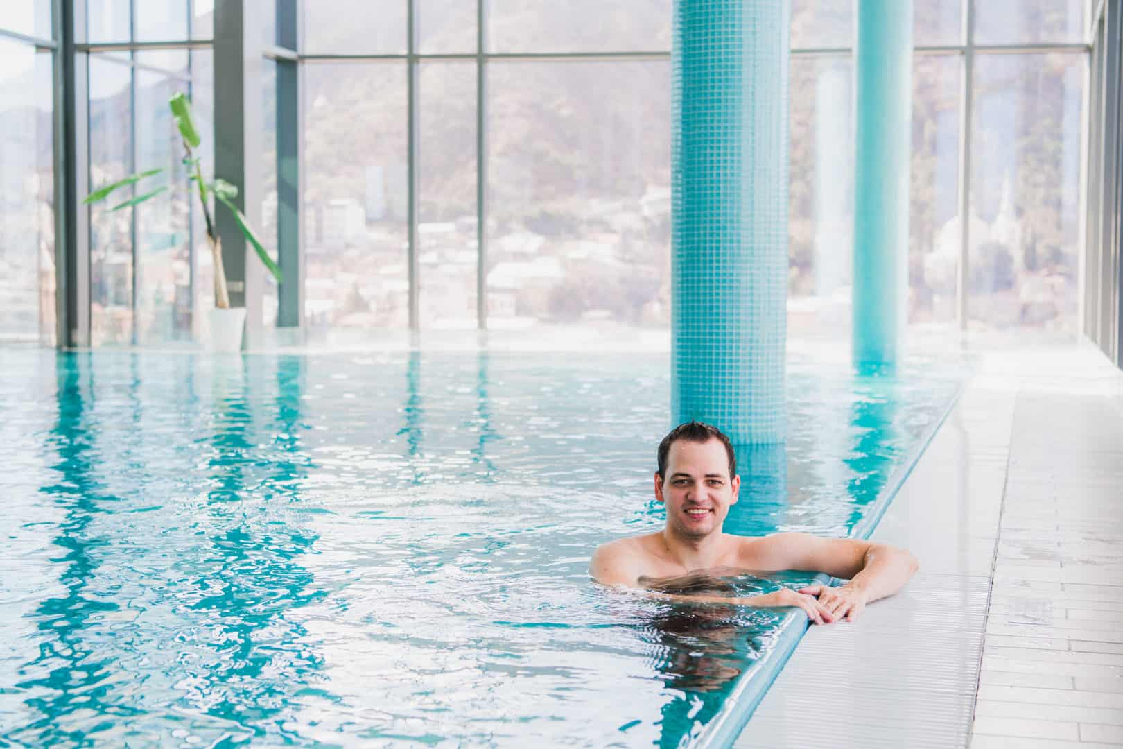 Edelstahl Pool